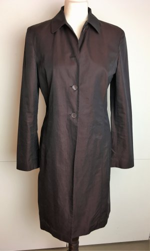 Hugo Boss Trenchcoat brun pourpre-bordeau coton