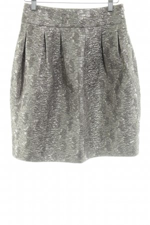 Hugo Boss Tulip Skirt silver-colored allover print extravagant style