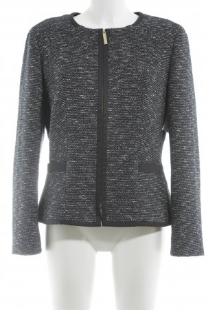 Hugo Boss Tweedblazer dunkelblau-weiß meliert Business-Look