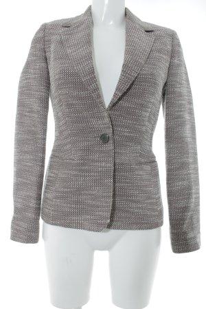 Hugo Boss Tweed blazer Webpatroon zakelijke stijl