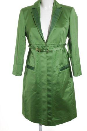 Hugo Boss Übergangsmantel grün extravaganter Stil