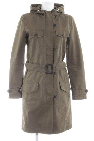 Hugo Boss Between-Seasons-Coat khaki casual look