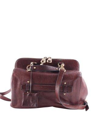 Hugo Boss Crossbody bag dark brown vintage look