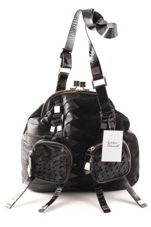 Hugo Boss Umhängetasche schwarz extravaganter Stil