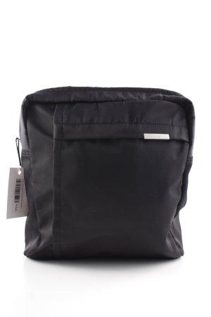 Hugo Boss Umhängetasche schwarz schlichter Stil