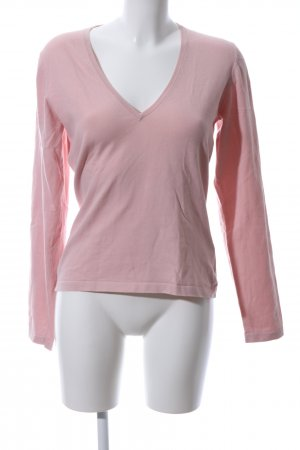 Hugo Boss V-Neck Sweater pink casual look