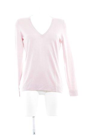 Hugo Boss Maglione con scollo a V rosa pallido stile casual