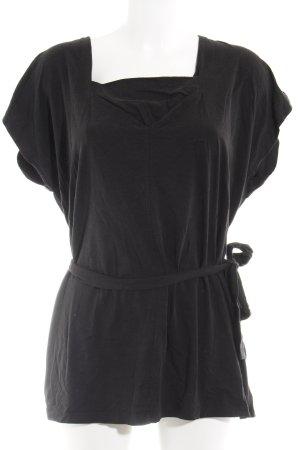 Hugo Boss V-Neck Shirt black casual look