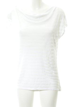 Hugo Boss Waterval shirt wit gestreept patroon casual uitstraling