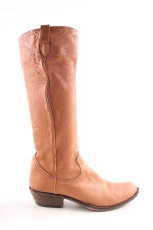 Hugo Boss Botas estilo vaquero marrón elegante