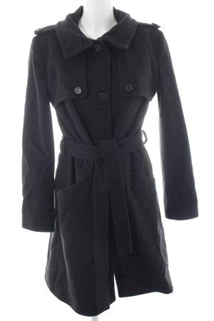 Hugo Boss Wintermantel schwarz minimalistischer Stil