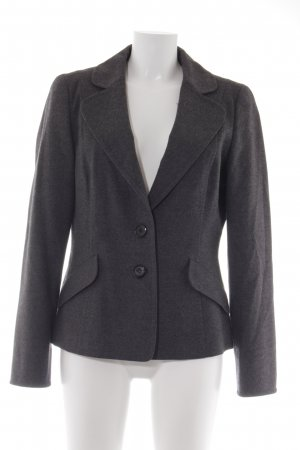 Hugo Boss Woll-Blazer anthrazit Business-Look