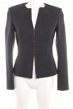 Hugo Boss Woll-Blazer dunkelblau meliert Business-Look