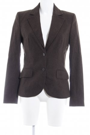 Hugo Boss Wool Blazer dark brown flecked business style