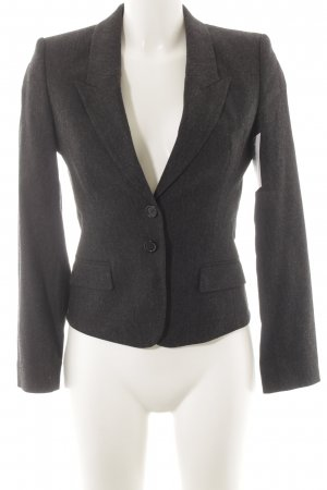 Hugo Boss Wool Blazer dark grey-natural white flecked elegant