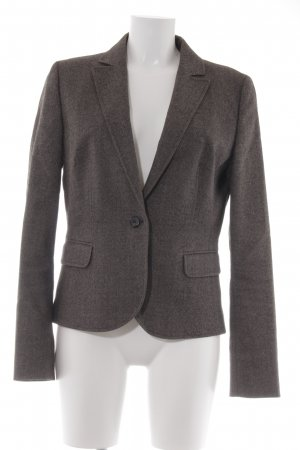 Hugo Boss Woll-Blazer hellbraun-wollweiß meliert Business-Look