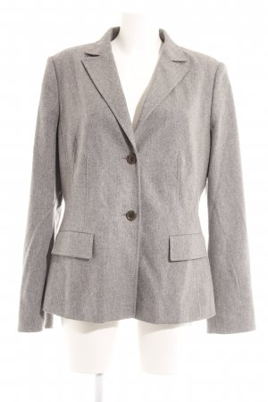 Hugo Boss Woll-Blazer hellgrau Business-Look