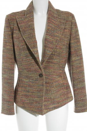 Hugo Boss Woll-Blazer meliert Casual-Look