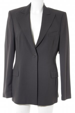 Hugo Boss Woll-Blazer schwarzbraun Business-Look