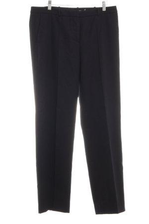 Hugo Boss Wollen broek zwart zakelijke stijl
