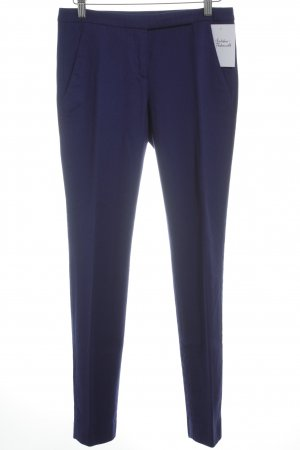 Hugo Boss Woolen Trousers dark violet business style