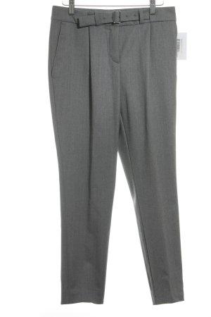 Hugo Boss Pantalon en laine gris moucheté style classique