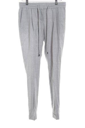 Hugo Boss Pantalon en laine gris clair moucheté élégant