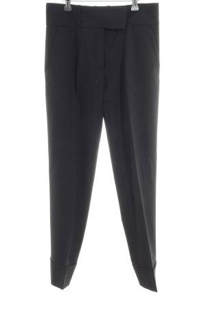 Hugo Boss Pantalon en laine noir style d'affaires