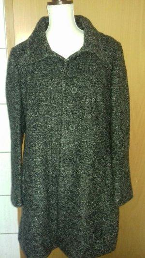 Hugo Boss Abrigo de lana gris antracita Lana