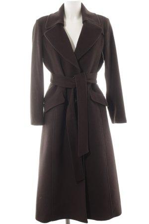 Hugo Boss Abrigo de lana negro elegante