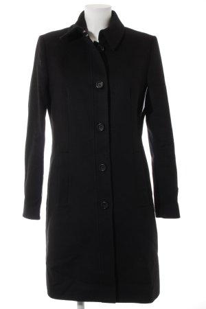 Hugo Boss Manteau en laine noir élégant