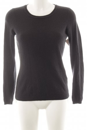 Hugo Boss Wollpullover dunkelblau Casual-Look