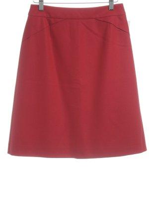 Hugo Boss Wool Skirt red elegant