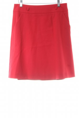 Hugo Boss Wool Skirt red classic style