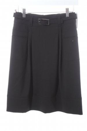 Hugo Boss Wollrock schwarz klassischer Stil