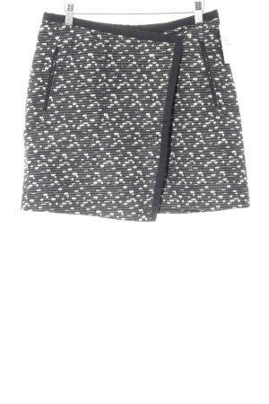 Hugo Boss Wool Skirt striped pattern elegant