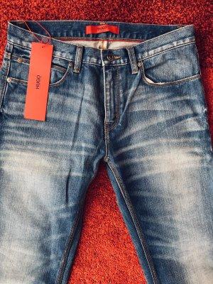 Hugo Boss Stretch jeans blauw-donkerblauw