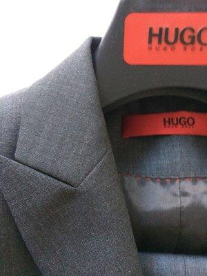 HUGO Hugo Boss Zakelijk pak grijs-donkergrijs Scheerwol