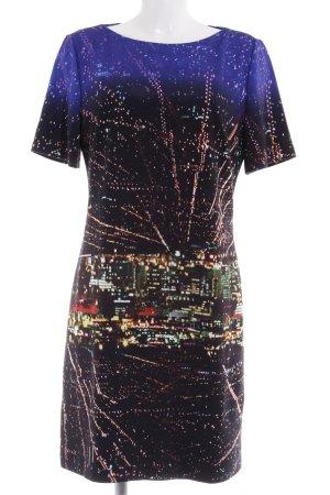 HUGO Hugo Boss Abendkleid Allover-Druck Street-Fashion-Look