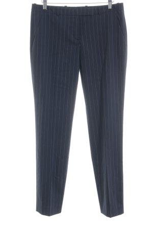 HUGO Hugo Boss Pantalone da abito blu scuro motivo a righe stile professionale