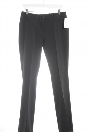 HUGO Hugo Boss Bundfaltenhose anthrazit Business-Look