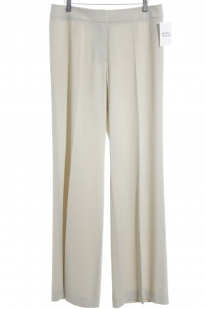 HUGO Hugo Boss Bundfaltenhose creme Business-Look