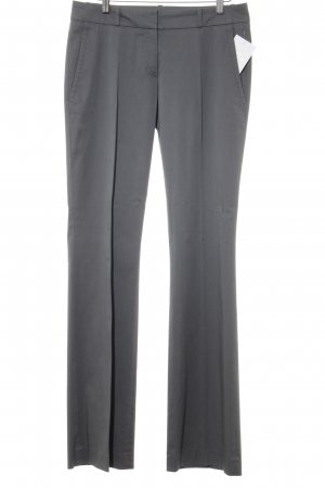 HUGO Hugo Boss Bundfaltenhose grau Casual-Look