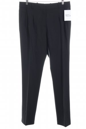HUGO Hugo Boss Bundfaltenhose schwarz Business-Look