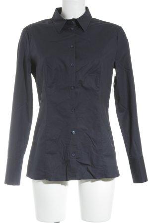 HUGO Hugo Boss Camicia blusa blu scuro stile professionale