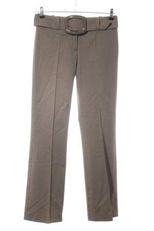 HUGO Hugo Boss Pantalon taille haute brun style d'affaires