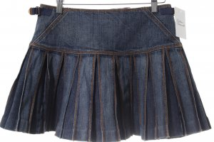 HUGO Hugo Boss Gonna di jeans blu puntinato stile casual