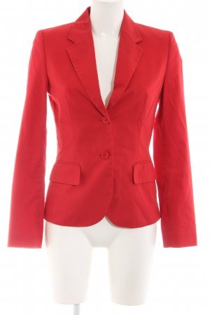 HUGO Hugo Boss Kurz-Blazer rot Business-Look