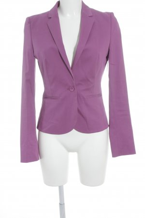 HUGO Hugo Boss Kurz-Blazer violett Business-Look