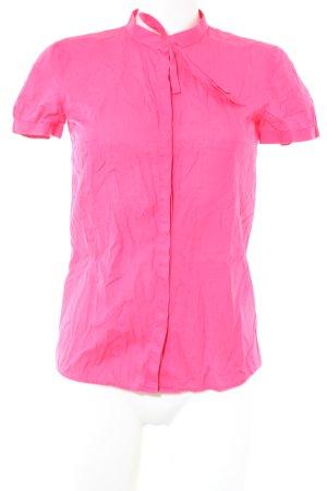 HUGO Hugo Boss Kurzarm-Bluse pink Elegant